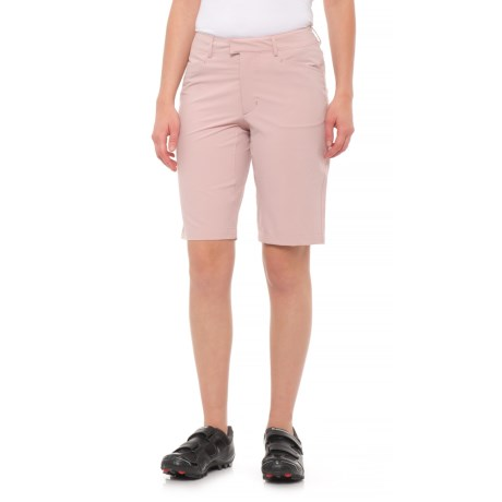 Shimano Transit Path Bike Shorts (For Women) in Mauve