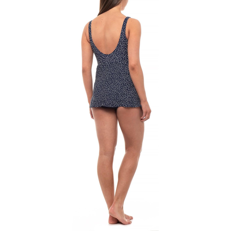 6d2732430c3 Shore Shapes Pebble Print Swim Dress - Underwire (For Women)