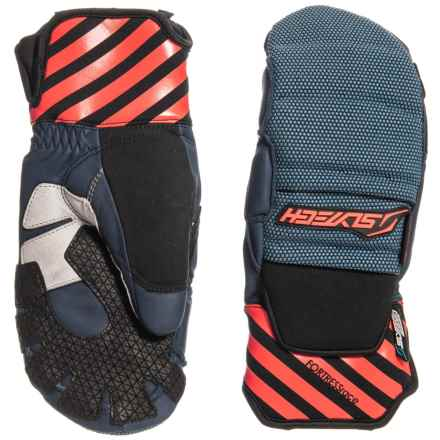 Shred Optics Fortress Race D-Lux Mittens - Insulated (For Men) in Midnight - Closeouts