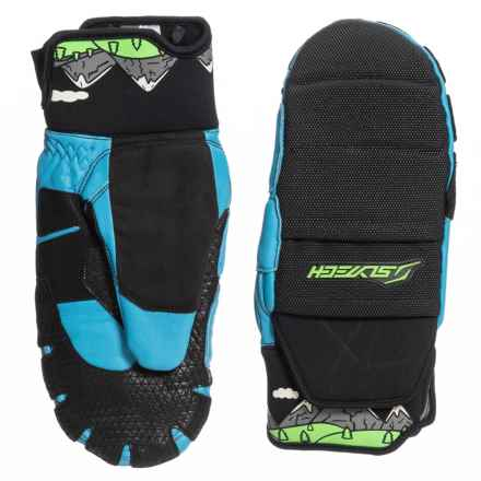 Shred Optics Fortress Race D-Lux Mittens - Insulated (For Men) in Needmoresnow - Closeouts