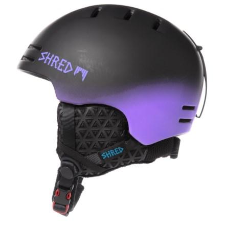7c51fdd659abb Shred Optics Slam-Cap Ski Helmet (For Men) in Dark Fader Purple -