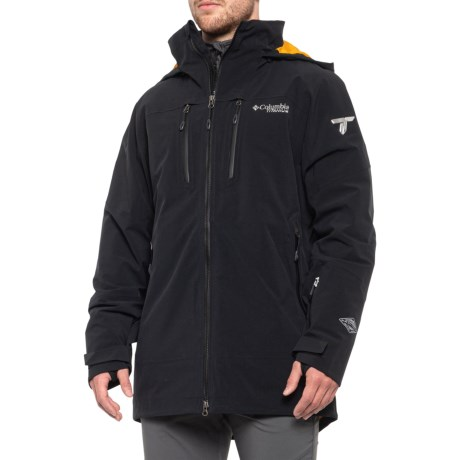Shreddin? Omni-Heat(R) Ski Jacket - Waterproof, Insulated (For Men) - BLACK (XL )