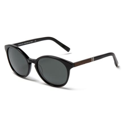 64211034d4b Shwood Bailey Sunglasses - Polarized (For Women) in Black Ebony Grey -