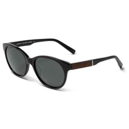 Shwood Madison Sunglasses - Polarized (For Women) in Black/Ebony/Grey - Closeouts