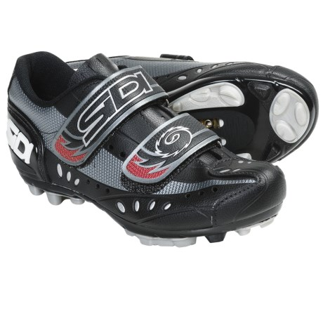 Sidi Blaze Mountain Bike Cycling Shoes - SPD (For Men) in Black