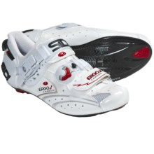 Sidi Ergo 2 Carbon Lite Vernice Cycling Shoes - Road (For Men) in White - Closeouts