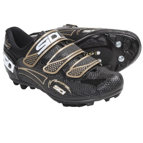 Sidi Giau Mountain Bike Shoes - SPD (For Women) in Black/Bronze