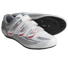 Sidi Nevada Road Cycling Shoes (For Men) in White/Silver - Closeouts