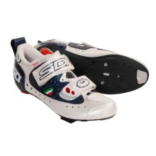 Sidi T2 Carbon Road Cycling Shoes - 3-Hole (For Women) in Midnight/White - Closeouts