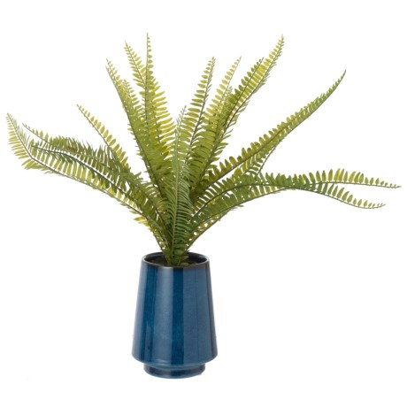 "Siena Floral Accents Fern in Ceramic Pot - 18"" in See Photo"