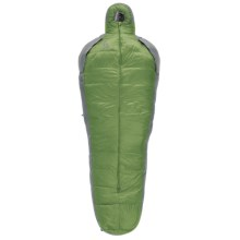 Sierra Designs 15°F Mobile 3-Season Down Sleeping Bag - 800 Fill Power, Long in Green/Gray - Closeouts