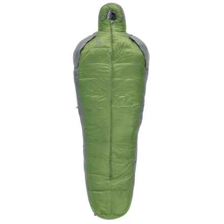 Sierra Designs 15°F Mobile Mummy 3-Season Down Sleeping Bag - 800 Fill Power in Green/Gray - Closeouts