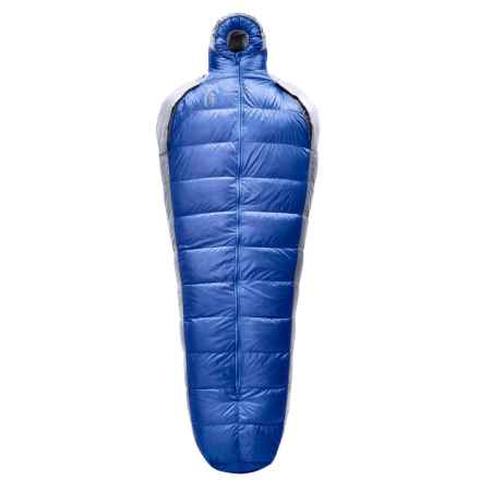 Sierra Designs 15°F Mobile Mummy 4-Season Sleeping Bag - 800 Fill Power in Blue/Gray - Closeouts