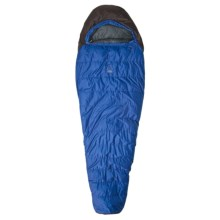 Sierra Designs 15°F Trade Wind Sleeping Bag - 600 Fill Power Down, Long Mummy in Blue/Black - Closeouts