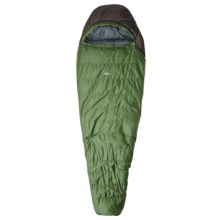 Sierra Designs 15°F Utopia Sleeping Bag - Synthetic, Long Mummy in Dark Green/Black - Closeouts