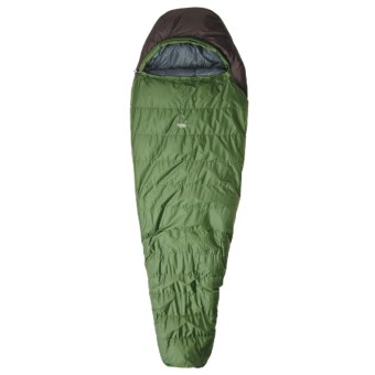 Sierra Designs 15°F Utopia Sleeping Bag - Synthetic, Long Mummy in Dark Green/Black