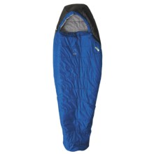 Sierra Designs 20°F Verde Sleeping Bag - Synthetic, Long Mummy in Blue/Black - Closeouts