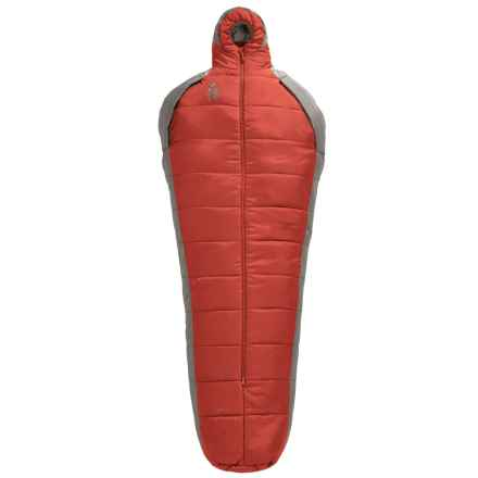 Sierra Designs 25°F Mobile Mummy 2.5-Season Sleeping Bag - Long in Red/Gray - Closeouts