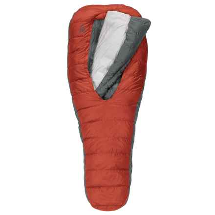Sierra Designs 30°F Backcountry Bed 2-Season Down Sleeping Bag - 800 Fill Power, Long in Bossa Nova - Closeouts