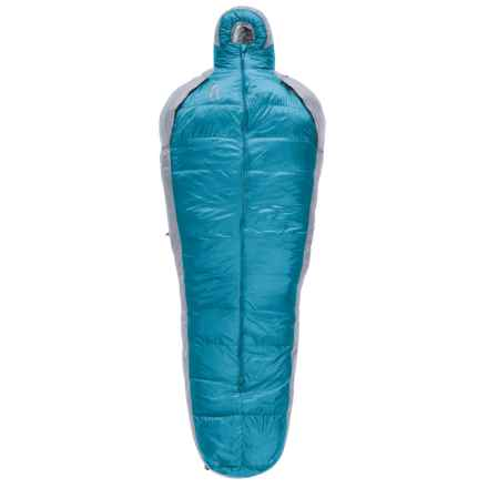 Sierra Designs 30°F Mobile Mummy 2-Season Sleeping Bag - 800 Fill Power (For Women) in Turquoise/Gray - Closeouts