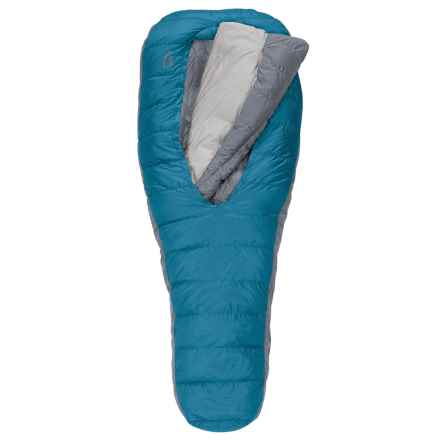 Sierra Designs 35°F Backcountry Bed Down Sleeping Bag - Mummy, 800 Fill Power (For Women) in Blue - Closeouts
