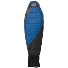Sierra Designs 35°F Big Dog Sleeping Bag - Short, Synthetic, Mummy (For Boys) in Blue/Black - Closeouts