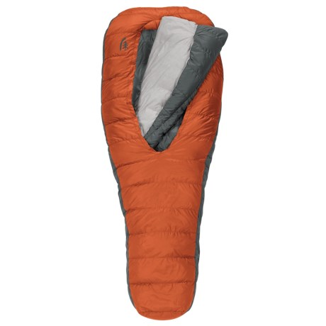 Sierra Designs 40°F Backcountry Bed 2-Season Sleeping Bag - 600 Fill Power, Long in Orange