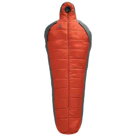 Sierra Designs 40°F Mobile Mummy 1.5-Season Sleeping Bag in Pompeian Red - Closeouts