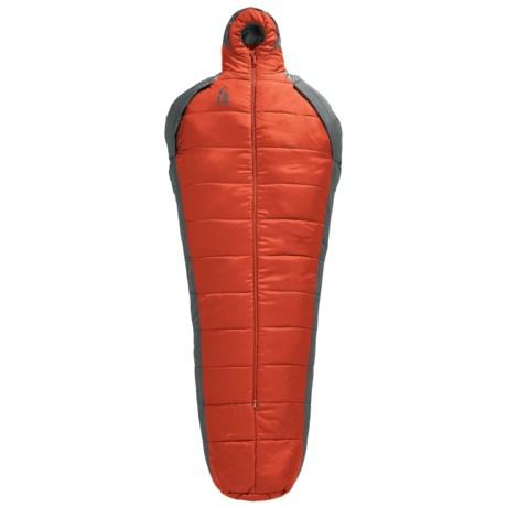 Sierra Designs 40°F Mobile Mummy 1.5-Season Sleeping Bag in Pompeian Red