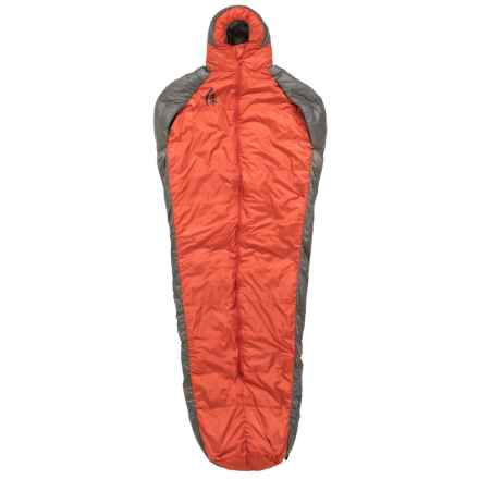 Sierra Designs 41°F Mobile Mummy 600 Down Sleeping Bag - 600 Fill Power in Red - Closeouts