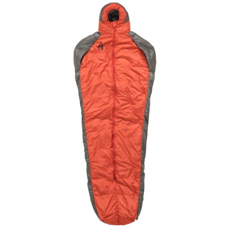 Sierra Designs 41°F Mobile Mummy 600 Down Sleeping Bag - 600 Fill Power in Red