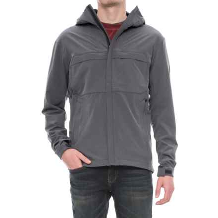 Sierra Designs All Season Soft Shell Jacket (For Men) in Black Heather - Closeouts