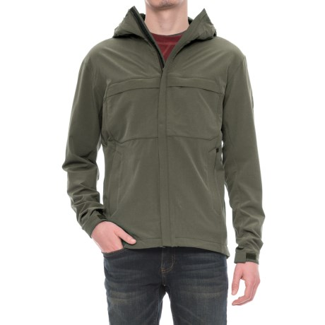 Sierra Designs All Season Soft Shell Jacket (For Men) in Dark Green Heather