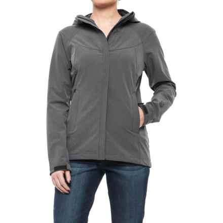 Sierra Designs All Season Soft Shell Jacket (For Women) in Black Heather - Closeouts