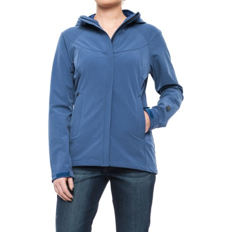 Sierra Designs All Season Soft Shell Jacket (For Women) in Blue Heather