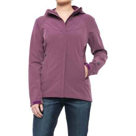 Sierra Designs All Season Soft Shell Jacket (For Women) in Lilac Heather - Closeouts