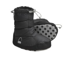 Sierra Designs Down Booties - 700 Fill Power (For Girls) in Black - Closeouts