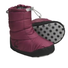 Sierra Designs Down Booties - 700 Fill Power (For Girls) in Radish - Closeouts