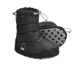 Sierra Designs Down Booties (For Boys and Girls) in Black