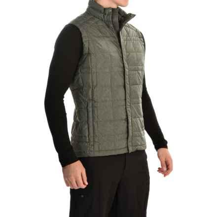 Sierra Designs DriDown Vest - 650 Fill Power (For Men) in Dark Green - Closeouts