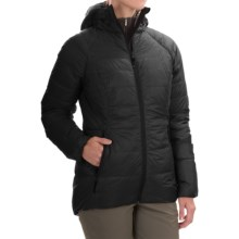 Sierra Designs Elite DriDown Hooded Parka - 850 Fill Power (For Women) in Black - Closeouts