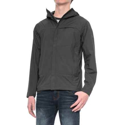 Sierra Designs Exhale Windshell Jacket (For Men) in Black - Closeouts