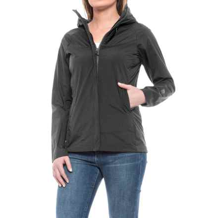 Sierra Designs Exhale Windshell Jacket (For Women) in Black - Closeouts