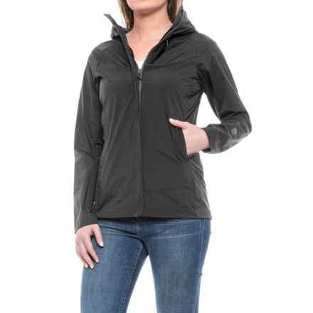 Sierra Designs Exhale Windshell Jacket (For Women) in Black - Closeouts