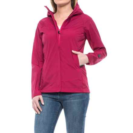 Sierra Designs Exhale Windshell Jacket (For Women) in Cerise - Closeouts