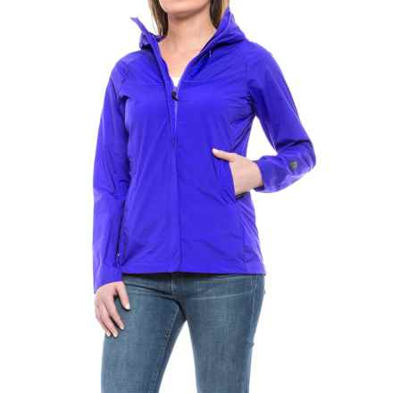 Sierra Designs Exhale Windshell Jacket (For Women) in Strong Blue - Closeouts