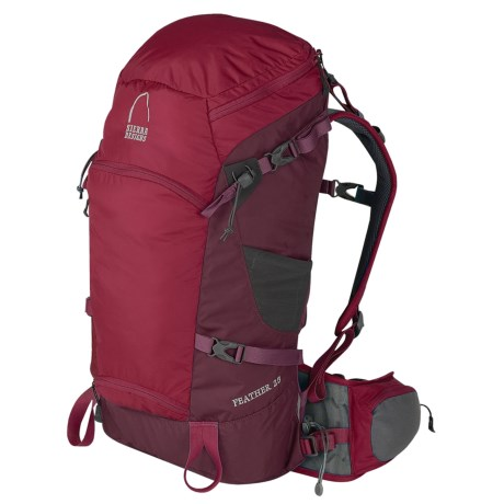 Sierra Designs Feather 25 Backpack in Rio Red