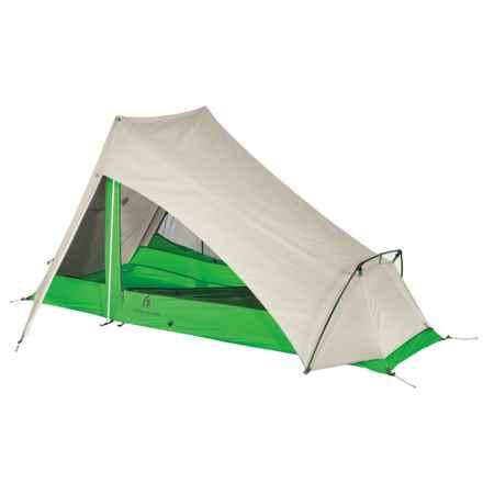 Sierra Designs Flashlight 1 Tent - 1-Person, 3-Season in Green - Closeouts