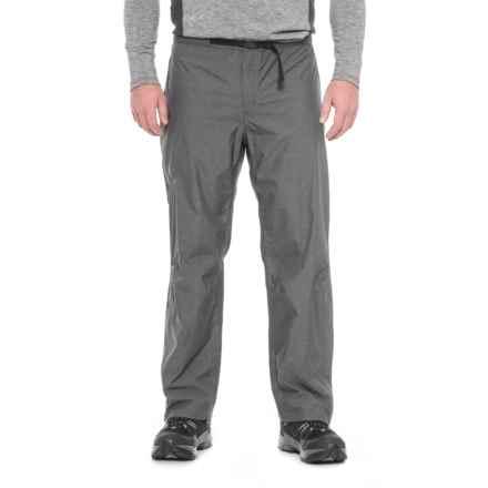 Sierra Designs Hurricane Heathered Pants - Waterproof (For Men) in Black - Closeouts