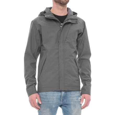 Sierra Designs Hurricane Jacket - Waterproof (For Men) in Black Heather - Closeouts